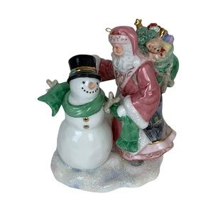 Thomas Kinkade Spirit of Winter's Glow Ornament